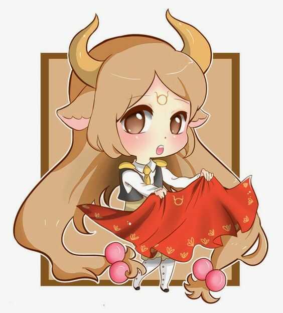Hình Cung Ma Kết Anime Chibi