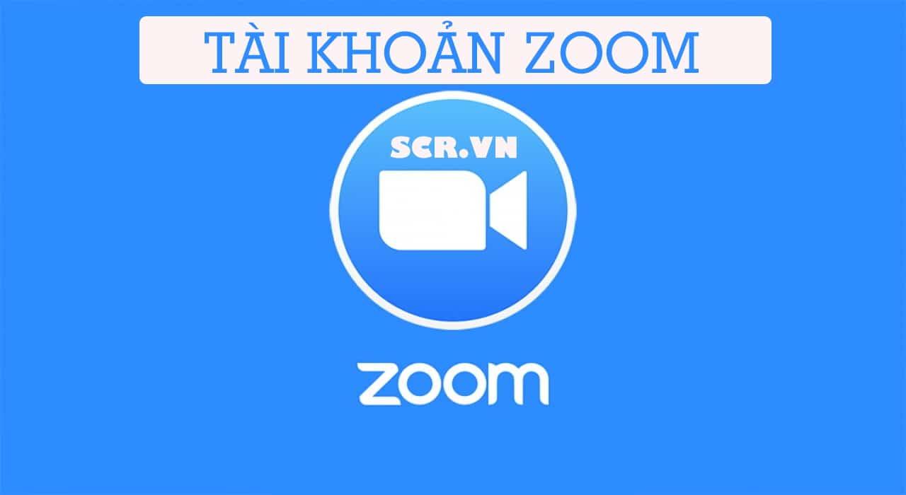 Tài khoản Zoom
