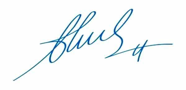 Độ nghiêng của chữ ký