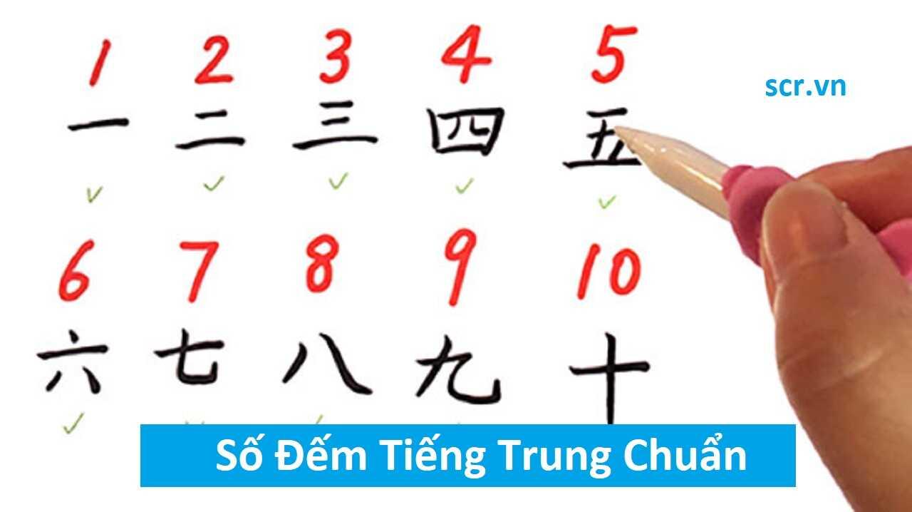 Số Đếm Tiếng Trung Chuẩn