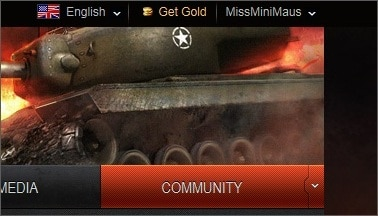 Cách Nhập Code World Of Tank Blitz - Bước 1