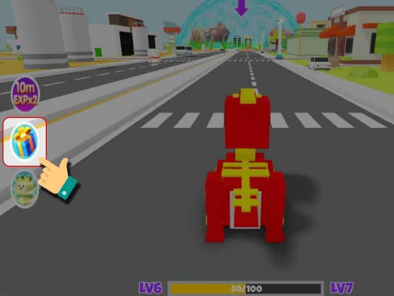 Cách Nhập GiftCode Game Dinosaur City - Bước 2