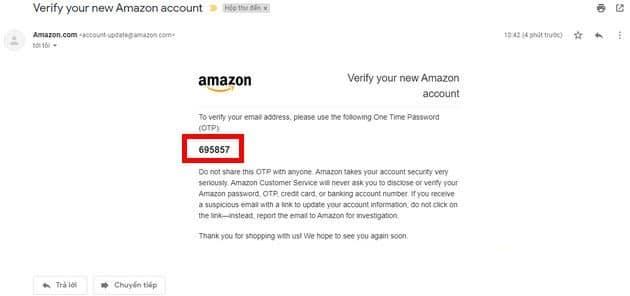 Cách Tạo Tài Khoản Amazon Prime - Bước 4