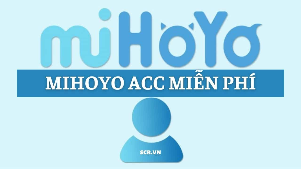 Mihoyo Acc
