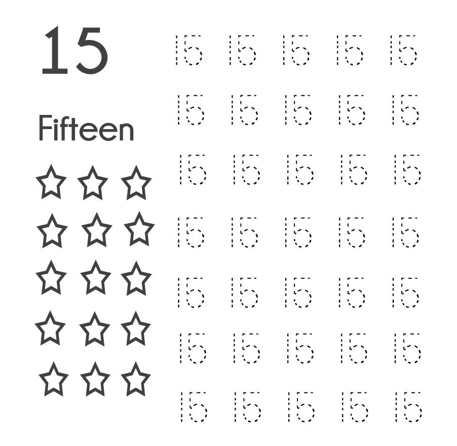 Số 15 Tiếng Anh Viết Như Thế Nào