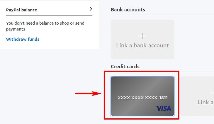 Xác thực tài khoản PayPal - bước 3