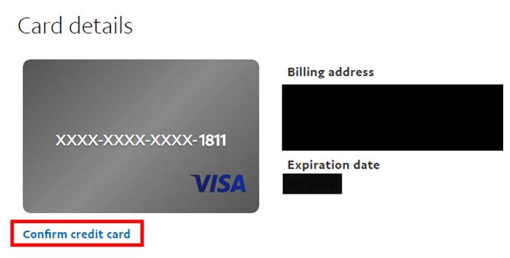 Xác thực tài khoản PayPal - bước 4