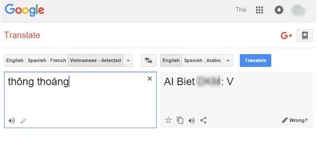 Chị Google lại nói bậy